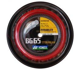 YONEX BG65 Titanium Rood 200 METER
