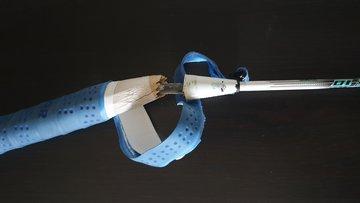 Badminton racket handvat reparatie